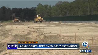 Extension of S.R. 7 approved by Army Corps of Engineers - Video