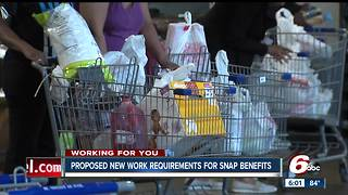Supplemental Nutrition Assistance Program or SNAP provides food assistance to low and no income people - Video