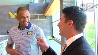 Juan Dixon on life at Coppin State and the NBA Finals - Video