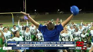 Top moments from 2017 high school football season - Video