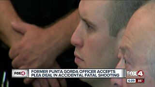 Former police officer accepts plea deal in accidental fatal shooting