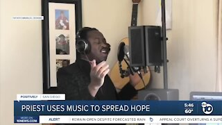 San Diego priest uses music to spread hope