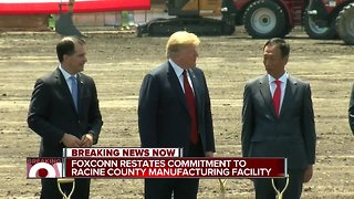 Foxconn doubles down on Wisconsin manufacturing facility in new statement