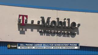 Cell phone carrier bills for nonexistent phone - Video
