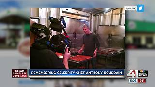 Kansas City native and food writer remembers time with Bourdain in KC
