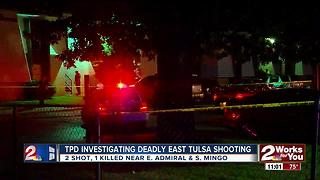 Suspect identified from overnight East Tulsa shooting - Video