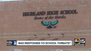 Parents concerned over Gilbert school's response time after threat