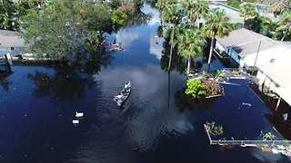 Flooding From Hurricane Irma Lingers in Bonita Springs, Florida - Video