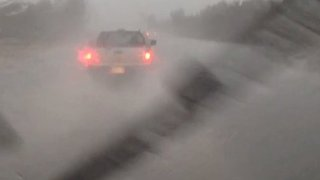 Blinding Storm Creates Dangerous Driving Conditions Near Boston - Video
