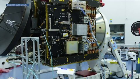 Mars Hope probe to move into Mars atmosphere today