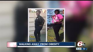 Indianapolis woman loses more than 100 pounds, learns to take control of health - Video