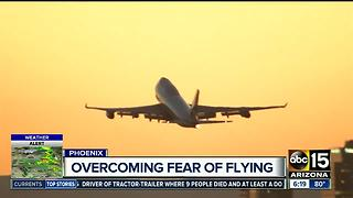 Class helps people overcome fear of flying - Video
