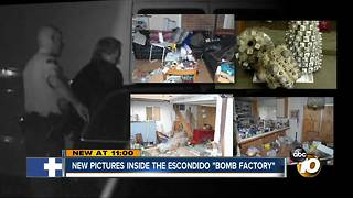 "New pictures inside Escondido ""bomb factory"""