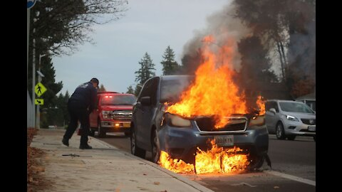How to Survive a Car Fire