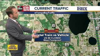 2 killed after CSX train crashes into minivan in Polk County - Video
