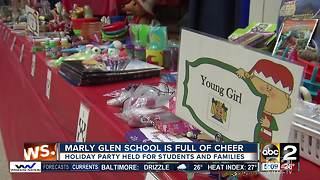 Marley Glen School holds holiday party for students and families - Video