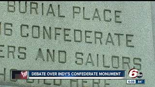 Indy Parks: Confederate monument should be moved - Video