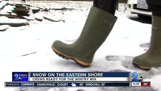 Snow on Eastern Shore