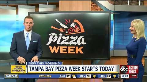 Enjoy $10 pizza deals during Tampa Bay Pizza Week