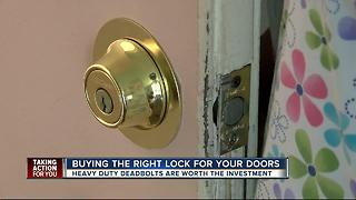 Buying the right lock for your doors - Video