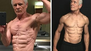 An Old Man Shows Off His Impressive Physique And Becomes An Internet Sensation