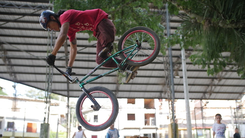 One-Legged BMX Rider Dreams Of Turning Pro