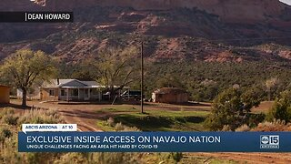Exclusive inside access on Navajo Nation