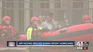 How 2 apps helped rescue Irma, Harvey victims - Video