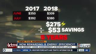 Saving money and energy
