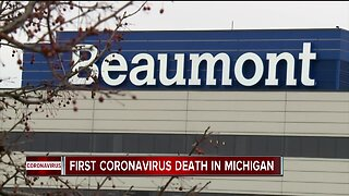 First death of patient with COVID-19 reported in Michigan