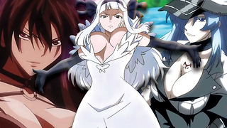 Top 10 HOTTEST Female Anime Villains - Video