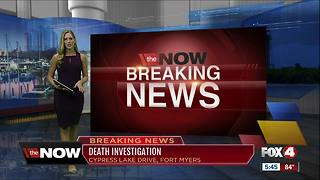 Fort Myers death investigation - Video