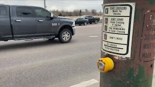 What's Driving You Crazy?: Bike and pedestrian crossing at C-470 and Santa Fe