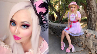 Barbie Wannabe Has Eye Surgery To Look More Caucasian   HOOKED ON THE LOOK - Video