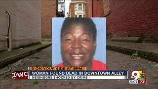 Police ID woman killed in Downtown alley - Video
