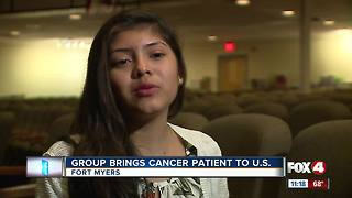 Group Brings Cancer Patient to U.S - Video