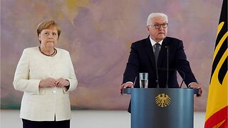 Merkel seen shaking for second time in month