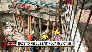 Trapped girl a symbol for Mexico's earthquake rescue efforts - Video
