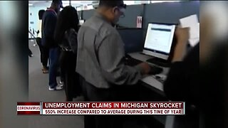 Labor Department says it saw an increase of 3 million unemployment claims last week