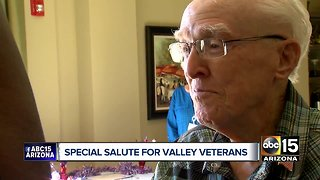 Valley hospice veterans honored during Friday ceremony