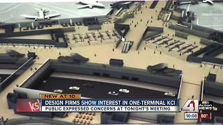 Design firms interested in KCI, public expresses concern - Video