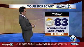 South Florida Monday afternoon forecast (5/28/18) - Video