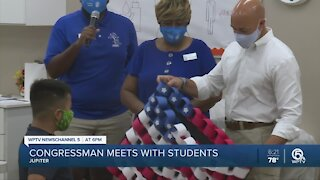 Brian Mast meets with students in Jupiter