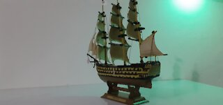 HMS Victory Airfix assembly