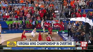 UVA wins National Championship in overtime