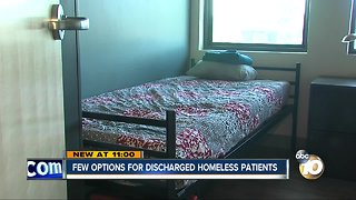 Despite new law, still few options for discharged homeless patients