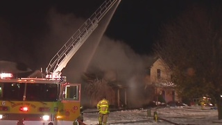 2 dead in early morning house fire in Monroe - Video