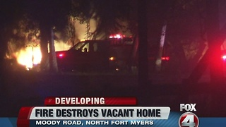 NFM house destroyed by fire - Video