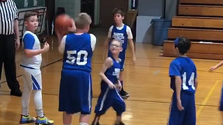 Basketball Player With Cerebral Palsy Gets A Heartwarming Assist