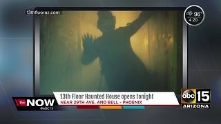 Looking for Halloween fun? 13th Floor haunted house is open! - Video